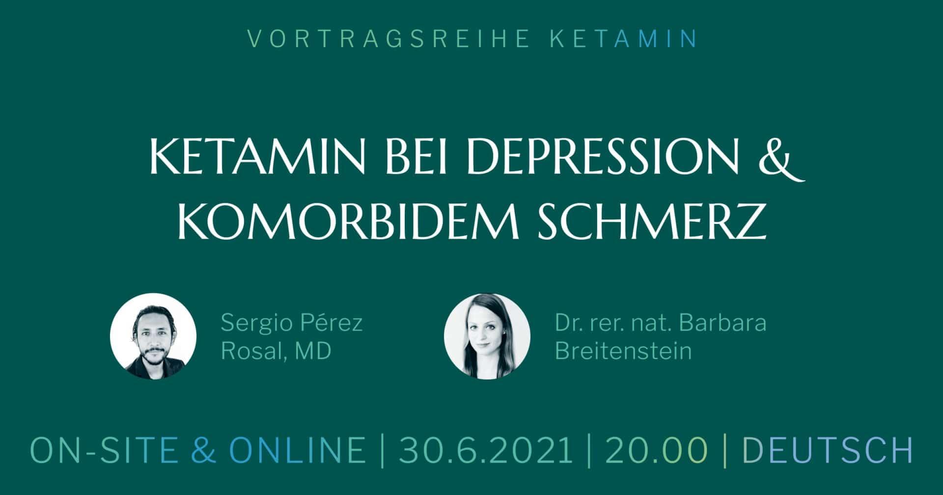 Ketamin bei Depression & komorbidem Schmerz